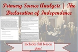 Primary Source Analysis | The Declaration of Independence
