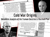 Document Analysis: Truman Doctrine and Marshall Plan