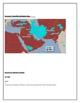 Document Analysis: Why did Islam split into Sunni/Shia?