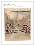 Document Based Assessment:  The Boston Massacre