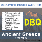 Document Based Question (DBQ) Ancient Greece-Common Core S