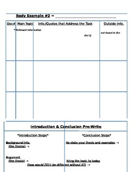 Global or U.S. History - Document-Based Question Outline Template version 2