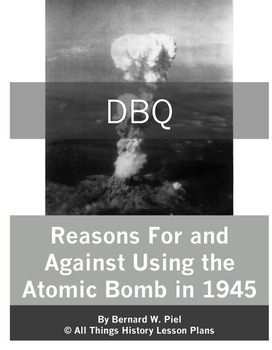 Document Based Question Pack: The Cold War