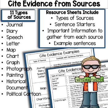 RACES PARAGRAPHS: Document-Based Question Writing Sentence Starters (DBQ)