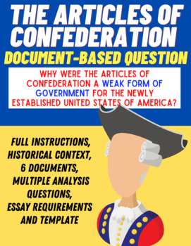 Document-Based Question: The Articles of Confederation