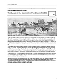 Document Based Question: The Laws of St. Laurent and the Hunt of 1875