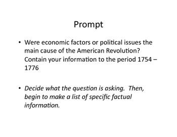 APUSH Document Based Question Tutorial