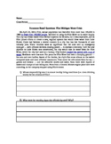 Document Based Questions: Flint Michigan Water Crisis