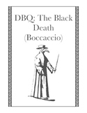 Document Based Questions: The Black Death (Giovanni Boccaccio)