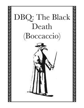 Document Based Questions: The Black Death (Giovanni Boccaccio)