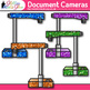 Document Camera Clip Art | Rainbow Visual Presenter Devices for Technology Use