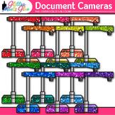 Document Camera Clip Art {Rainbow Visual Presenter Devices