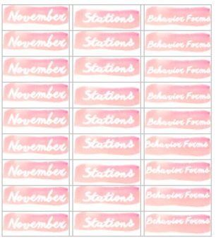 Document File Labels Packet 2