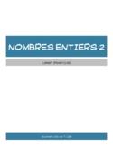 Les nombres naturels - Document de travail