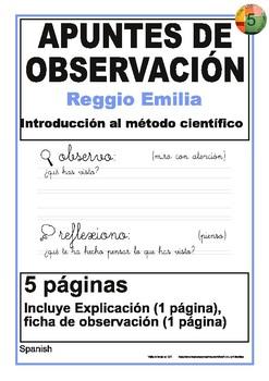 Documentación de trabajos de observación