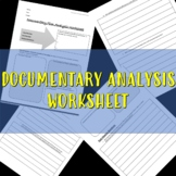 Documentary Analysis worksheet