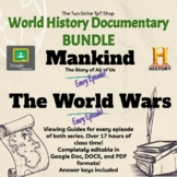 Documentary BUNDLE: Mankind and The World Wars *History Channel, Google Links*