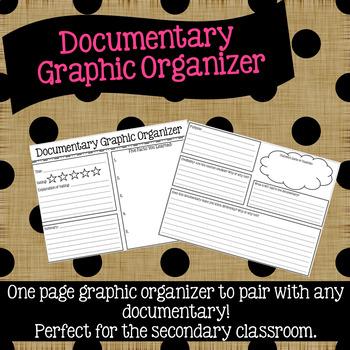 Documentary Graphic Organizer