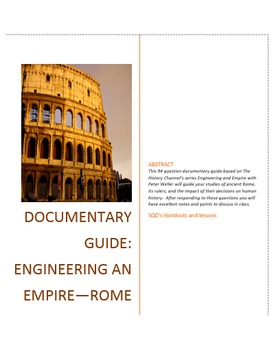Documentary Guide--Rome: Engineering and Empire