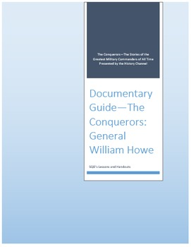 Documentary Guide--The Conquerors, Episode 2: General William Howe