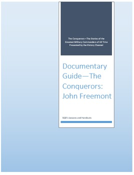 Documentary Guide--The Conquerors, Episode 5: John Freemont