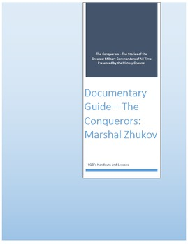 Documentary Guide--The Conquerors, Episode 7: Marshal Zhukov