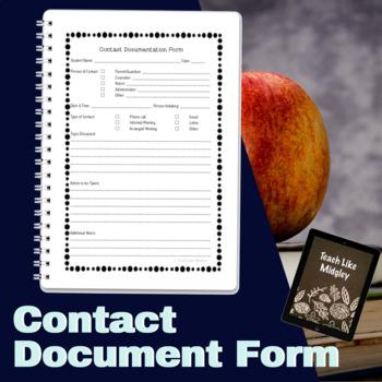 Contact Documentation Form