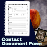 Contact Documentation Form