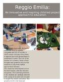 Documentation Poster: Reggio (editable)