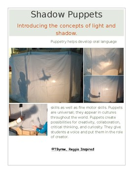 Documentation Poster: Shadow Puppets