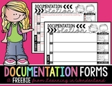 Documentation Station {Data/Evidence Binder Freebie}