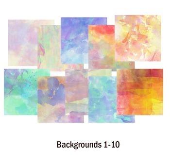 Documentation Template Bundle: 20 Powerpoint Layouts, 20 backgrounds