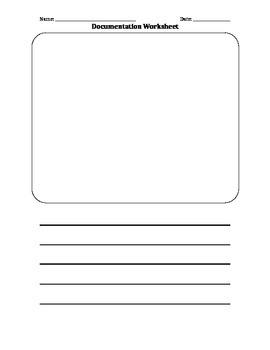 Documentation Worksheet