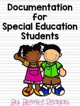 Documentation for Special Education Students