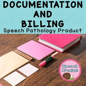 Speech Therapy Data Organizer for Billing, Attendance, Goals and Objectives