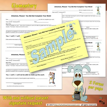 The Yellow Slip: Document Student Refusal to Complete Work (Easy & Effective!)