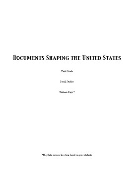 Documents Shaping the United States