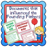 Documents that Influenced the Founding Fathers- Constituti