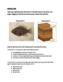 Docusment Based Science Task-Fossils