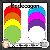 Dodecagon Clip Art