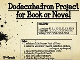 Dodecahedron Book or Novel Project