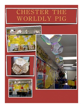 "Dodecahedron ""Chester the Worldly Pig"" by Bill Peet Book Walk/ Book Study"