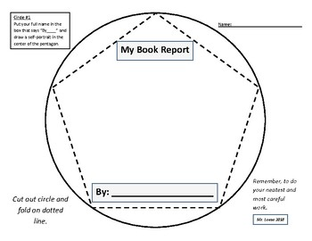 Dodecahedron Fiction Book Report Project