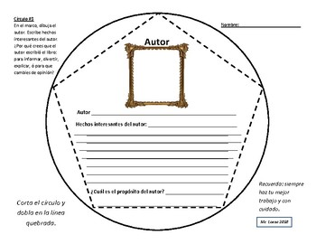 Dodecahedron Fiction Book Report Project - SPANISH