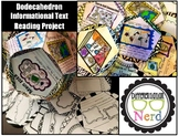 Dodecahedron Informational Text Reading Project