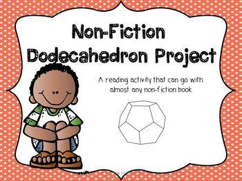 Dodecahedron Non-Fiction Reading Activity