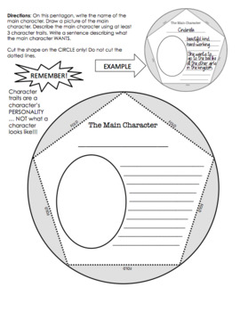 Dodecahedron fiction book report project (print & go)