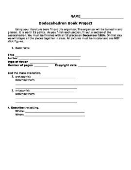 Dodechadron Book Report