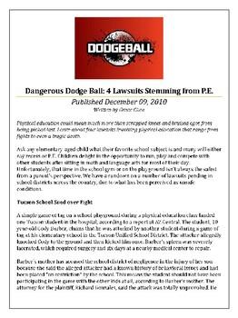 Dodgeball Persuasive Essay