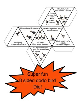 Dodo Bird Game - Learn About the Dodo Bird and Have Fun, Great File Folder Game